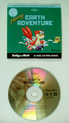 Britannica Family Collection Earth Adventure Daily Mail Promo CD ROM • 2.99£