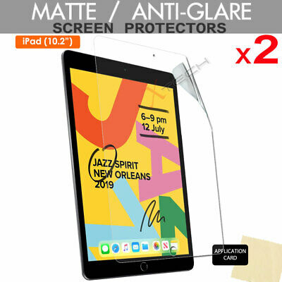 2x ANTIGLARE MATTE Screen Protector Cover Guards For Apple IPad 7 7th Gen 10.2  • 2.79£