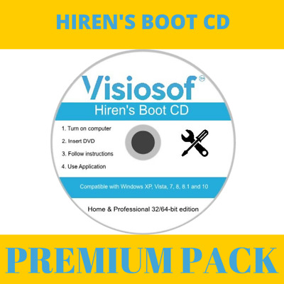 Hirens Boot CD For Repair Loop And System Recovery  • 3.98£
