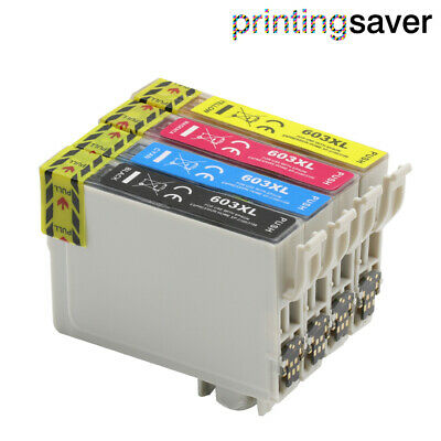 Compatible Ink Fit Epson 603XL XP-3100 XP-3105 XP-4100 XP-2105 XP4105 XP2100 Lot • 23.99£