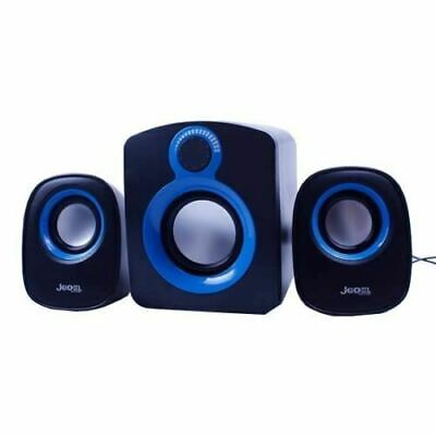 Jedel 2.1 USB Powered Wired Speakers Subwoofer For PC Desktop Laptop Tablet UK • 10.95£