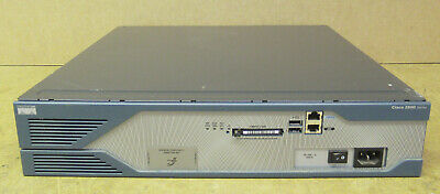 Cisco CISCO2821-SRST/K9 2800 Series Integrated Services Security Router  • 96£