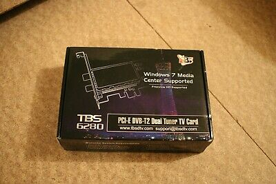 TBS 6280 Digital Freeview HD TV Tuner Card • 65£