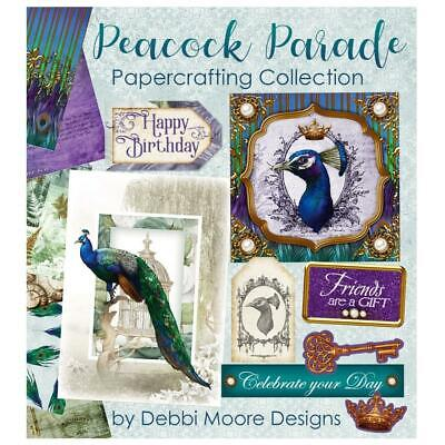 Debbi Moore Designs Peacock Parade Papercrafting CD Rom (677068) • 13.74£