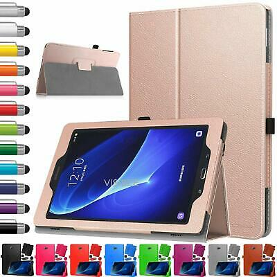 Leather Tablet Stand Flip Cover Case For Samsung Galaxy Tab A6 10.1 T580 T585 • 4.95£