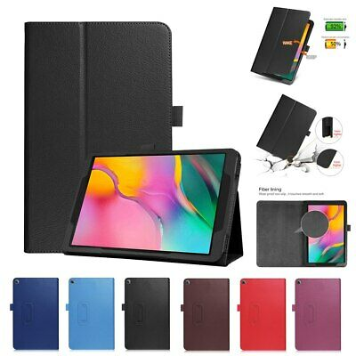 Leather Flip Stand Case Cover For Samsung Galaxy Tab A 10.1 (SM-T510 T515) 2019 • 5.29£
