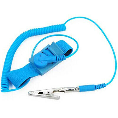 TRIXES Anti-Static Electricity Grounding Wrist Strap Band ESD Discharge PC • 2.49£