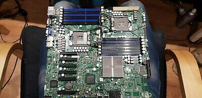 Supermicro Motherboard X8DTE-F DUAL LGA1366 DDR3 PCIe • 180£