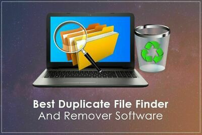 Duplicate File Remover Find Files Pictures Data Music Photos Images Remove DVD • 2.99£