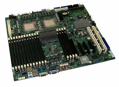SuperMicro X7DWN+ Rev1.1A Dual Socket J LGA771 Enhanced Extended ATX Motherboard • 79.99£