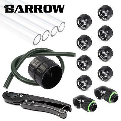 Barrow 16mm PETG Hard Tube Starter Kit  - Black • 56.99£