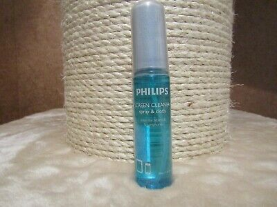 Philips SVC1116/10 Screen Cleaner Solution With MicroFibre Cloth   30ml  • 4.19£