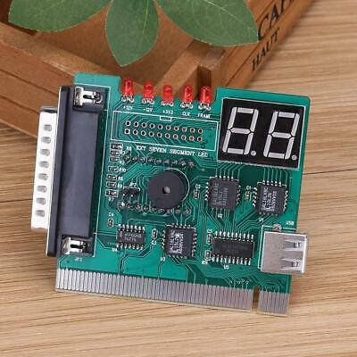 1pc USB PCI PC Motherboard Diagnostic Analyzer POST Card For Laptop PC • 6.56£