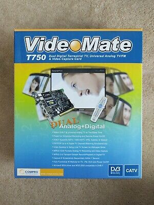 Compro VideoMate T750 • 29.99£