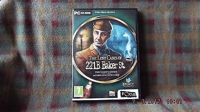 The Lost Cases Of 221b Baker St.  Pc Game • 2.49£