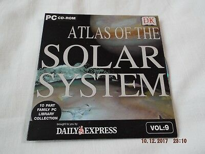 Daily Express Atlas Of The Solar System Pc Cd-rom • 1.40£