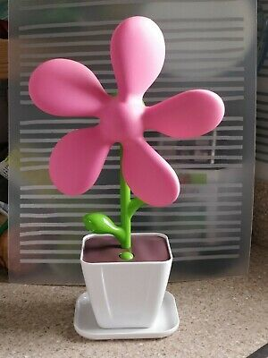 USB Flower Desk Fan - Pink • 13£