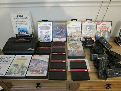 Sega Master System Job Lot Console Games Controllers Tested And Working As Seen • 27£