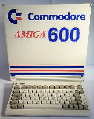 Commodore AMIGA A600 Computer Original Packaging. Mint. Collectible. Vintage PC  • 374.99£