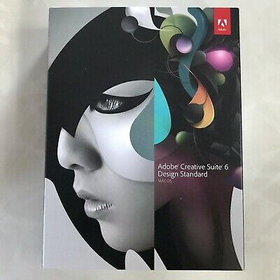 Adobe Cs6 Creative Suite 6 Design Standard Mac Upgrade From Any Cs3/cs4 With Tol • 249.99£