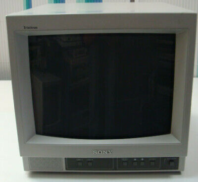 Sony Trinitron PVM-14N5MDE 14  Color Video Monitor Vintage Gaming Games • 500£