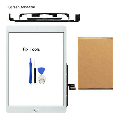 White For IPad 7th Generation 2019 Genuine IC Digitizer Touch Screen Replacement • 19.99£
