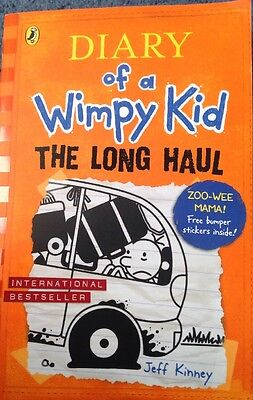 The Long Haul By Jeff Kinney (Paperback, 2016) • 1.50£