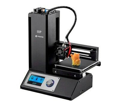 Monoprice Select Mini V2 3D Printer (BLACK) With Heated Build Plate • 139.99£
