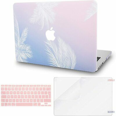 *NEW* 2020 Macbook Pro 13inch Hardshell Case Cover (A2289-A2251) Feather • 35.95£