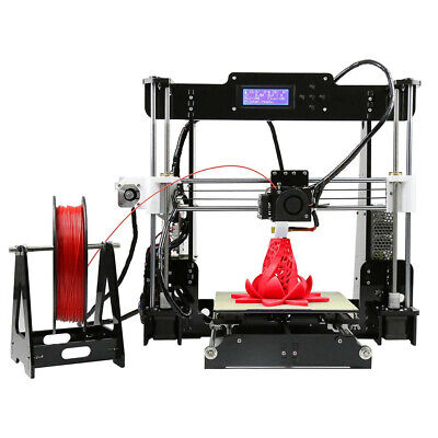 Anet® A8 DIY 3D Printer Kit 1.75mm / 0.4mm Support ABS / PLA / HIPS + Filament • 76£