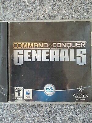 Command &  Conquer Generals (MAC, 2004) With Box • 0.99£