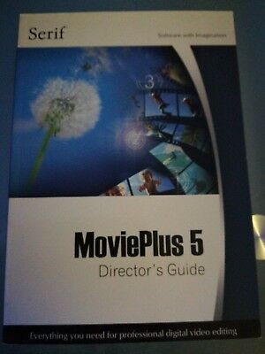 Serif Movie Plus 5  Companion User Directors Guide Only No Disc • 0.99£