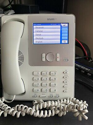 SNOM 870 Colour Touchscreen Display Business Phone VoIP POE • 30£