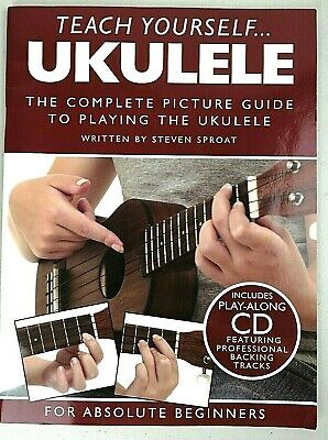 Teach Yourself Ukulele Book And CD 'For Absolute Beginners' • 8.95£