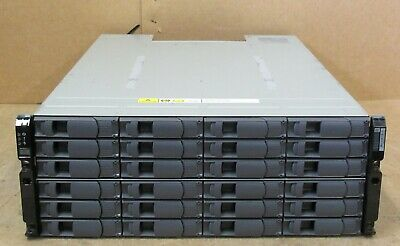 NetApp DS4243 NAJ-0801 24x 450GB 3.5 SAS HDD 2x IOM3 4x PSU 4U Expansion Shelf • 360£