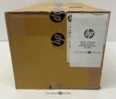 F2G77A - HP Laserjet  Maintenance Kit For M604 M605 M606 Series- New OEM • 229£