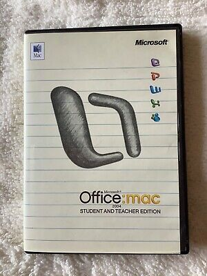 Microsoft Office Mac 2004 Home & Student And Teacher Edition • 7.50£