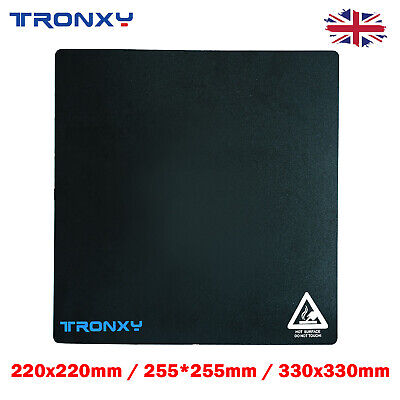 Tronxy 3D Printer Hotbed Sticker Square Mat Heated Bed Build Surface 3 Size • 11.15£