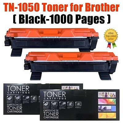 2 X Toner Cartridge Fits Brother TN1050 DCP1510 DCP-1512 HL-1110 HL-1112 MFC1810 • 10.98£