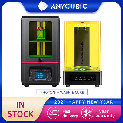 ANYCUBIC SLA 3D Printer Photon High Precision Or Wash & Cure UV Light Curing KIT • 268£