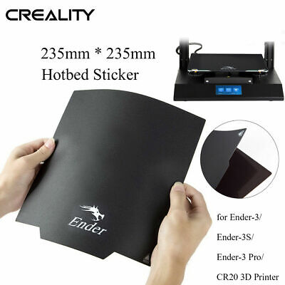 Creality 3D Magnetic Hot Bed Sticker 235X235mm Pad For Ender-3 Pro 3D Printer • 10.95£