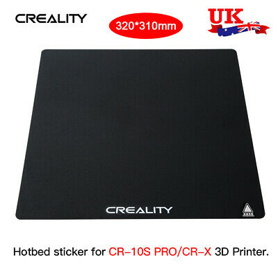 Creality 320x310mm 3D Printer Part Heat Hot Bed Build Plate For CR-10S PRO/CR-X • 10.99£