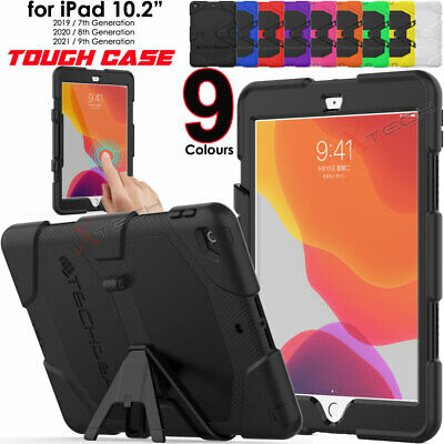 For Apple IPad 10.2 2020 8th Tough HEAVY DUTY Shockproof Rugged Stand Case Cover • 11.95£