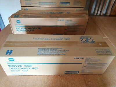 Konica Minolta DV311C Cyan Developing Unit New And Unused Inc VAT • 125£
