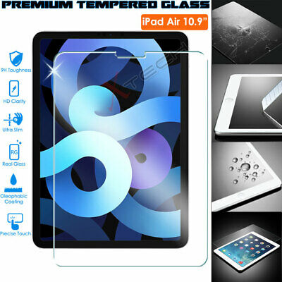 TEMPERED GLASS Screen Protectors Cover For Apple IPad Air 2020 / Air 4 4th 10.9  • 4.95£