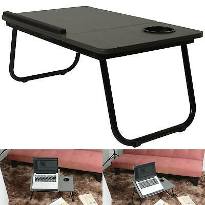 Folding Adjustable Portable Laptop Table Stand Desk Stand Tray Foldable • 12.99£