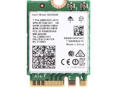 Intel 8265 Dual Band Wireless Card For M.2 8265AC 8265NGW Laptop WiFi • 11.99£