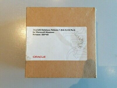 Oracle 9i Database Rel 1 (9.0.1) CD Pack For Microsoft Windows Sep-02 - 23CDs • 30£