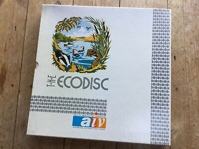 Bbc Domesday 86 Project Laser Disc Ecodisc • 62£