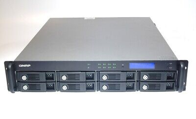 QNAP TS-809U NAS Turbo Network Attached Storage Server 8 Bay 2U Rackmount • 215£
